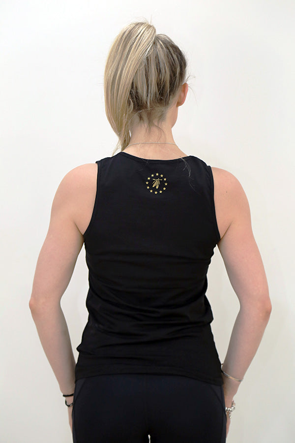 Wanderer Tank - Black & Gold