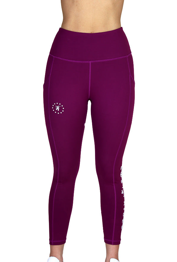 Best Friend Leggings - Magenta 7/8