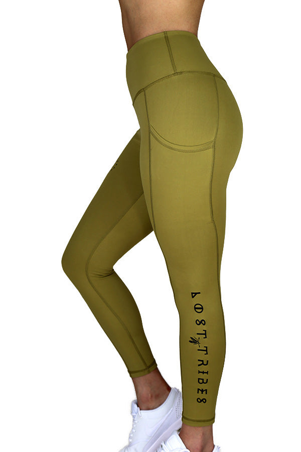 Best Friend Leggings - Matte Gold 7/8