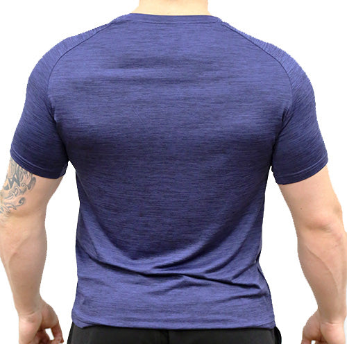 Trainer Tee - Navy Blue Marle