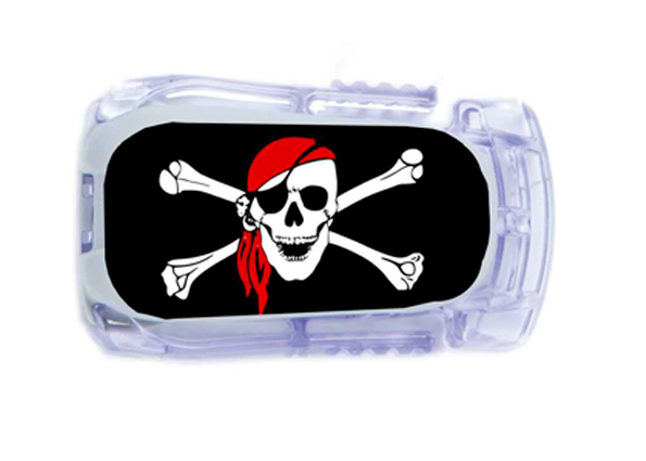 Sticker Dexcom Transmetteur - Pirate