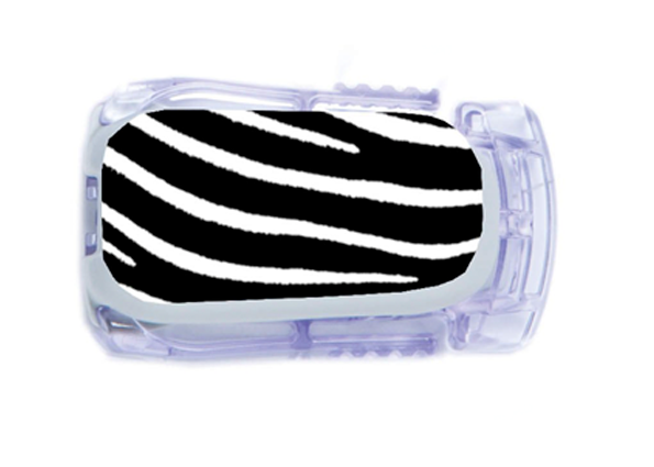 Dexcom Transmittor Sticker - Zebra