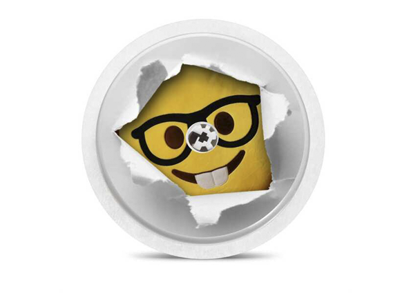 Freestyle Libre Reader Sticker - Minion