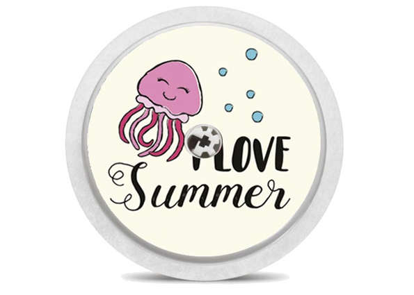 Freestyle Libre Sensor Sticker - Summertime