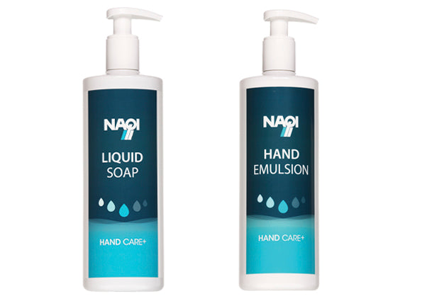 L'ensemble Hand Emulsion & Liquid Soap