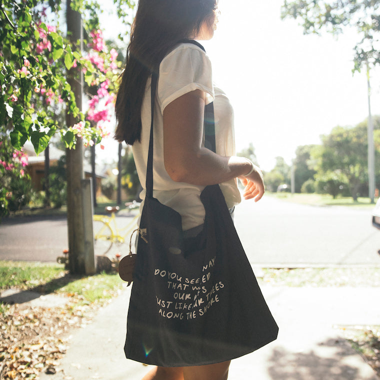 'Laps Around The Sun' Tote Sling Bag