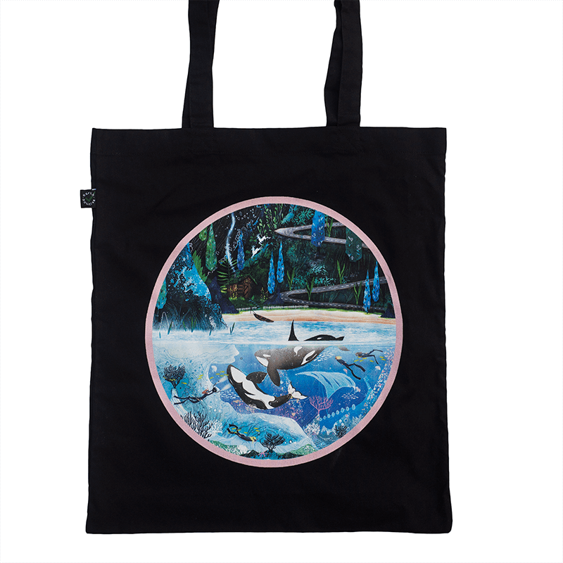 'Tell Me' Tote Bag