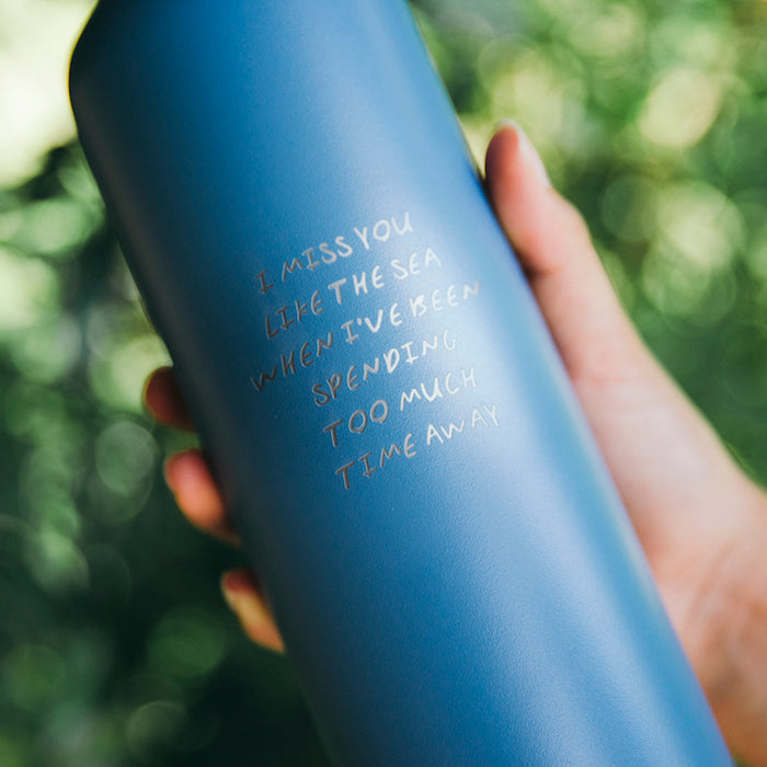 'Laps Around The Sun' 750ml Water Bottle