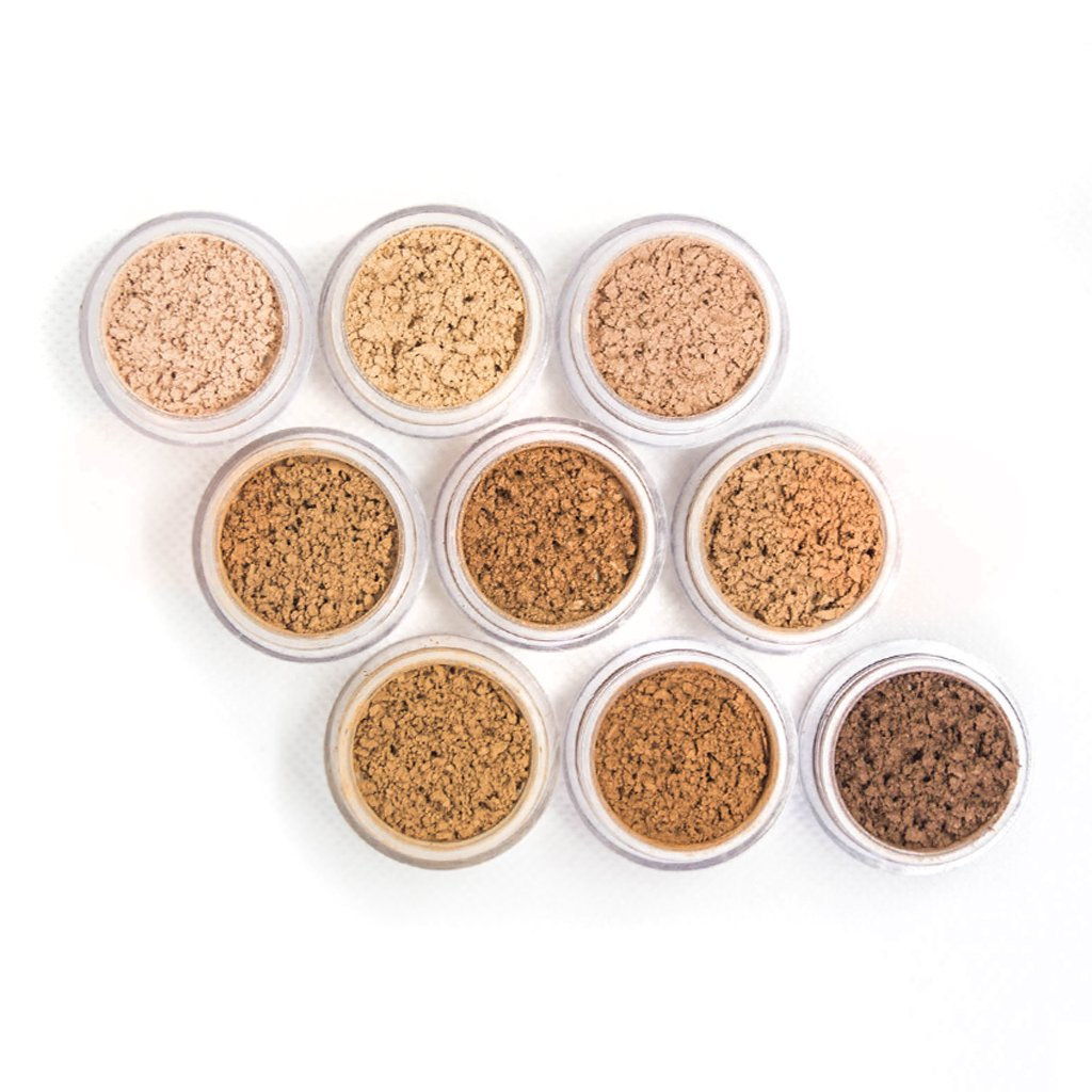 Samples - Active Mineral Powder Foundation