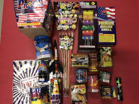 Family Fireworks Display Package