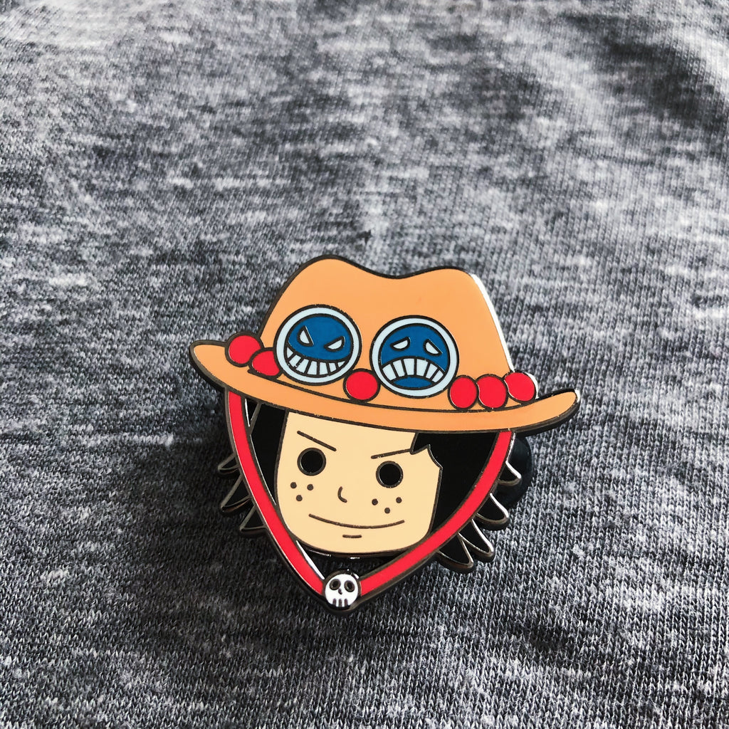 The Three Brothers: Luffy, Ace and Sabo Hard Enamel Pin Set