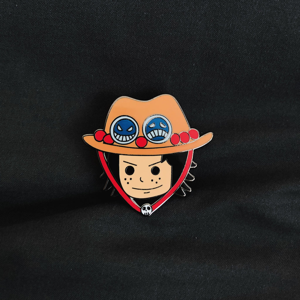 Portgas D. Ace Hard Enamel Pin