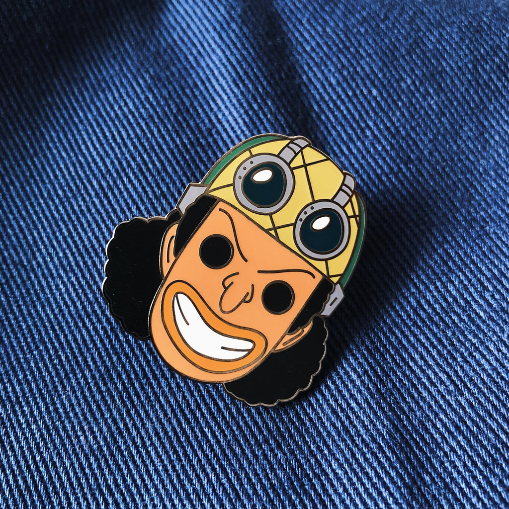 Usopp Hard Enamel Pin