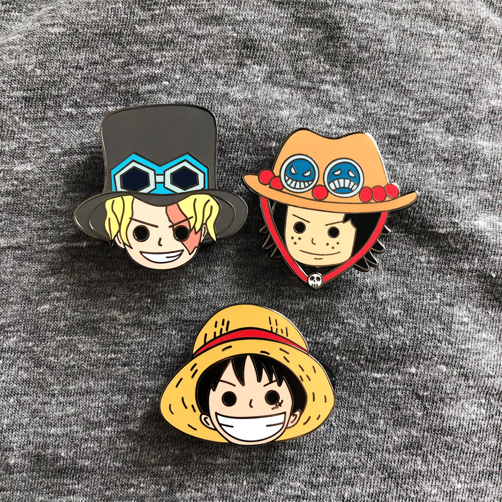 Sabo One Piece Hard Enamel Pin