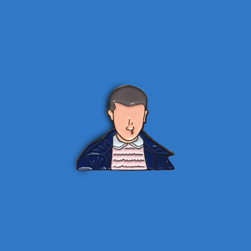 Stranger Things Eleven Enamel Pin