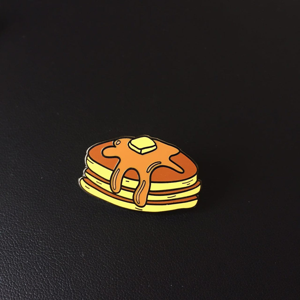 Maple Pancakes Enamel Pin