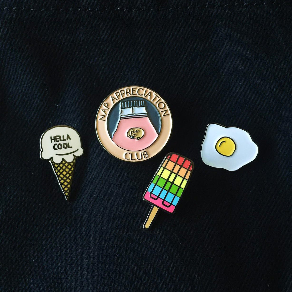 Rainbow Popsicle Hard Enamel Pin