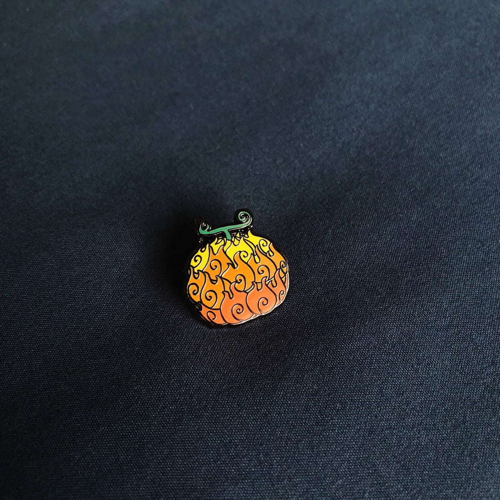Set of 3 Devil Fruits One Piece Hard Enamel Pin