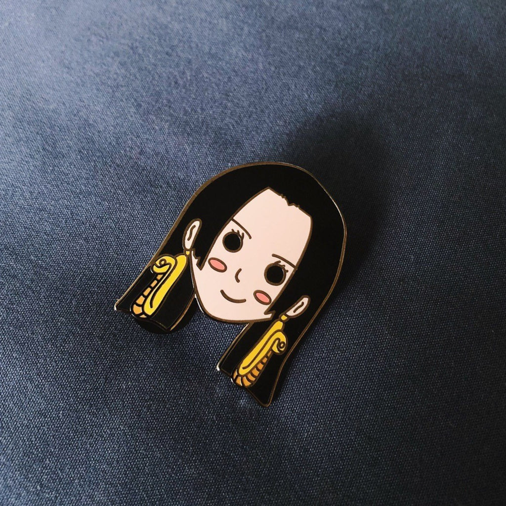 Boa Hancock One Piece Hard Enamel Pin
