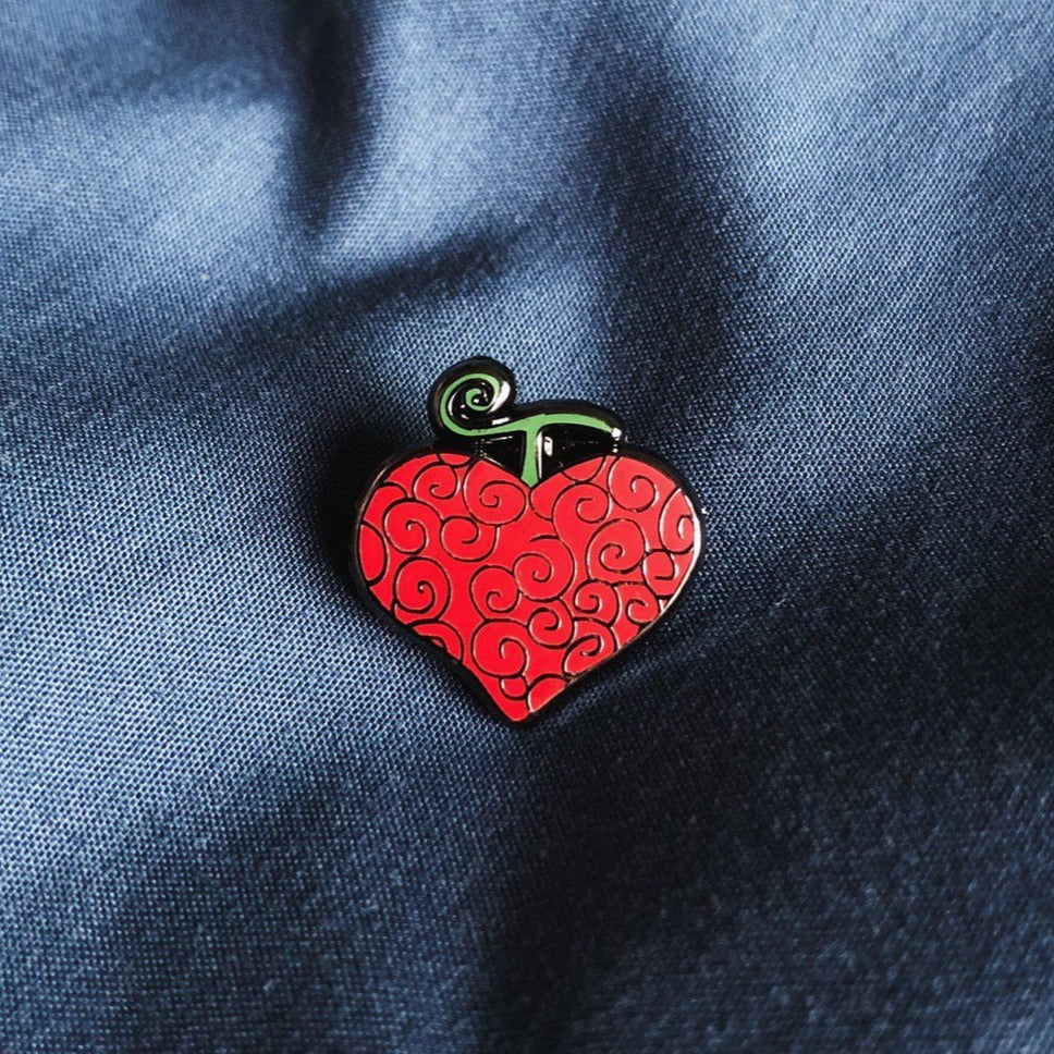 Ope Ope no Mi Devil Fruit One Piece Hard Enamel Pin