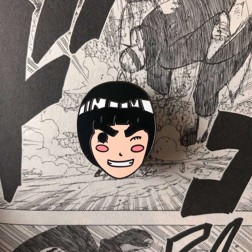 Rock Lee Hard Enamel Pin