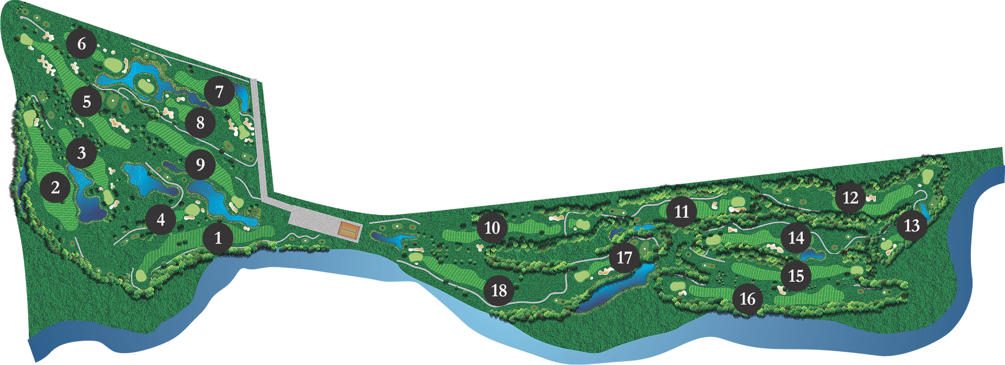 Meadows at Pemberton Course Map