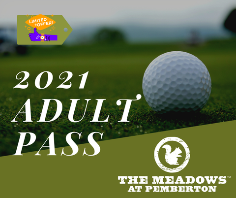 2021 Adult Pass Limited Number of Passes Available