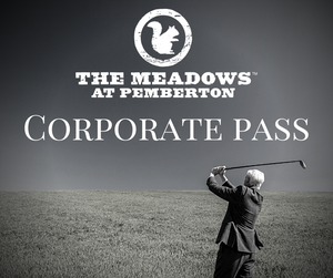 2021 Corporate Golf Pass - Limited Number of Passes Available
