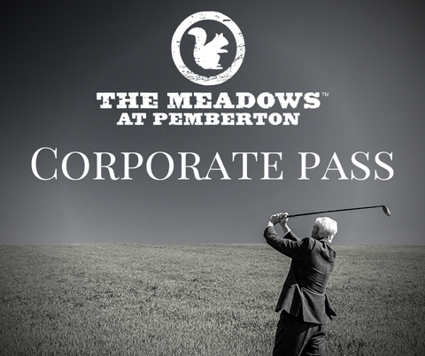 2021 Corporate Golf Pass Limited Number of Passes Available