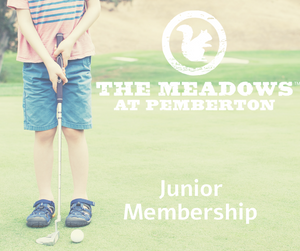2020 Junior Golf Membership (13-16 years)
