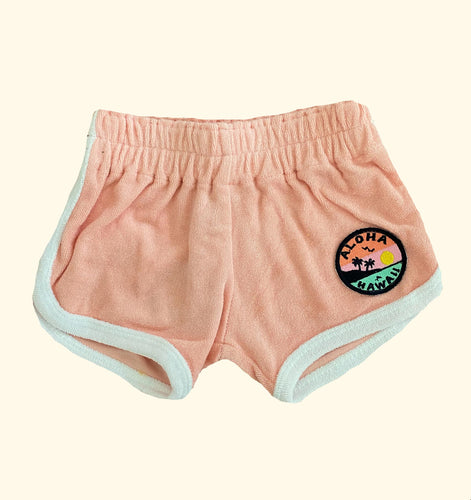 LITTLE CHIEFS | Original Chillin Shorts | Light Pink