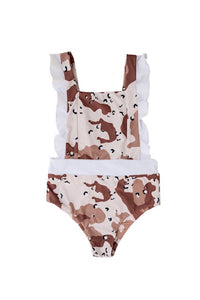 LITTLE RUKI | Harajuku One-Piece | Desert Camo