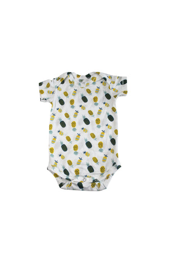 SKYE HI | Short Sleeve Onesie | Pineapple