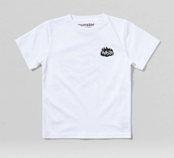 MUNSTER | On Fire Tee | White