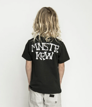 MUNSTER | KRW Tee | Soft Black