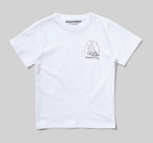 MUNSTER | Unusual Tee | White