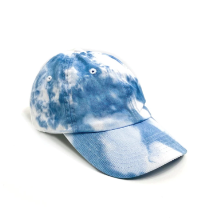 PORT 213 | Baseball Cap | Blue Tie-Dye