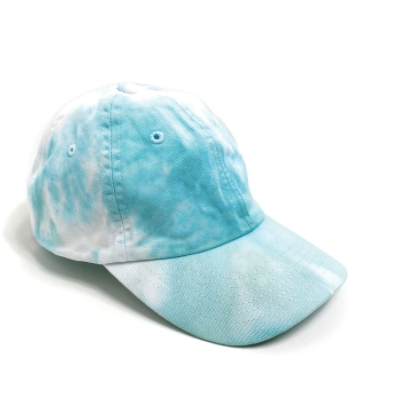 PORT 213 | Baseball Cap | Teal Tie-Dye