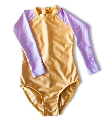LITTLE FELLA REBELS | Viola Long Sleeve Swimsuit
