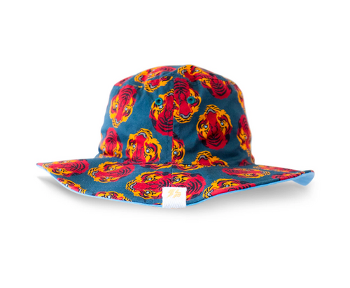 LITTLE FELLA REBELS | Tiger Reversible Bucket Hat