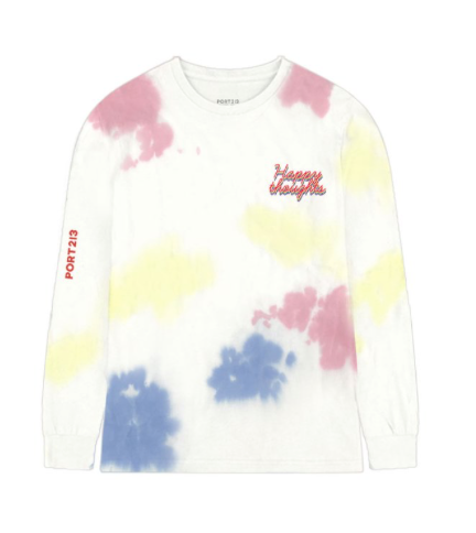 PORT 213 | Happy Thoughts Long Sleeve | Tie Dye