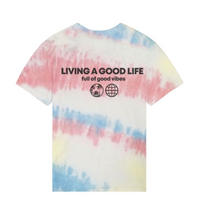 PORT 213 | Living a Good Life Tee | Tie Dye