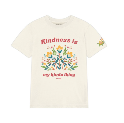 PORT 213 | Kindness Tee | Ivory