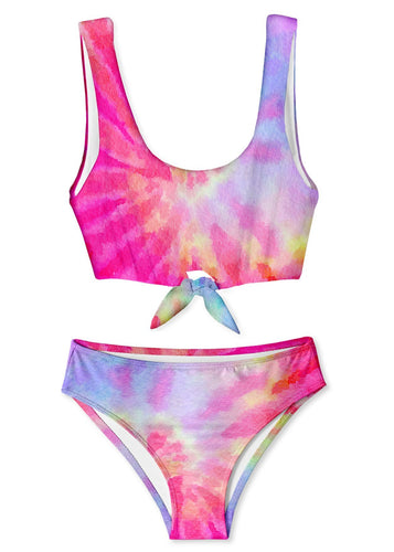 STELLA COVE | Pink Tie Dye Tie Two-Piece