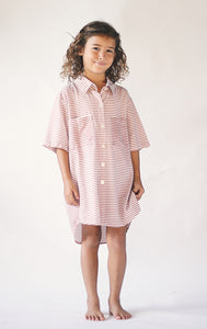 LITTLE RUKI | Koya Dress | Miso Stripe