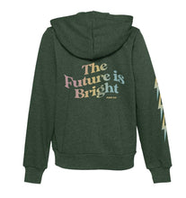 PORT 213 | The Future is Bright Zip Hoodie | Green