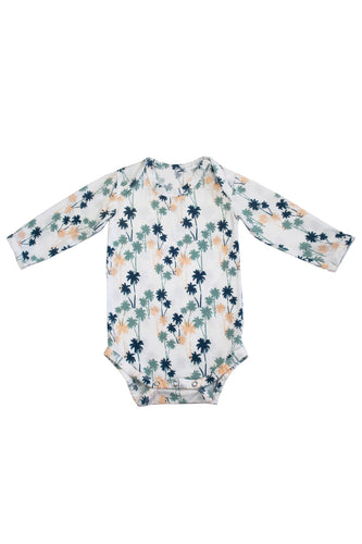 SKYE HI | Long Sleeve Onesie | Palm