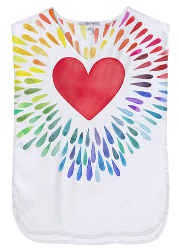 Happy Heart  Poncho
