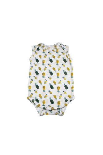 SKYE HI | Sleeveless Onesie | Pineapple