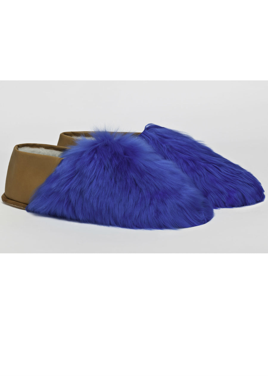 Royal Blue Express Slippers